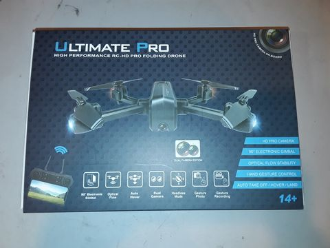 Lot 1075 ULTIMATE PRO HIGH PERFORMANCE FOLDING DRONE