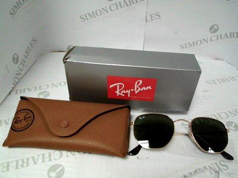 Lot 9015 RAY-BAN Hexagonal Sunglasses RRP £131.00