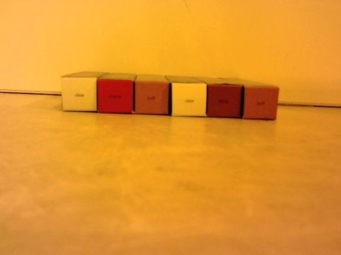 Lot 1502 BOXED TARTE TRIO TO INCLUDE 2 CLEAR, 2 BUFF, 1 CHERRY AND 1 BERRY