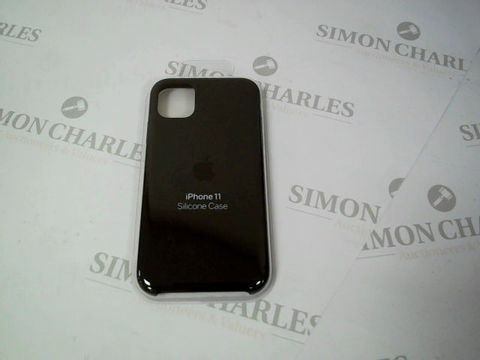 Lot 5253 IPHONE 11 SILICONE CASE- BLACK RRP £57.99