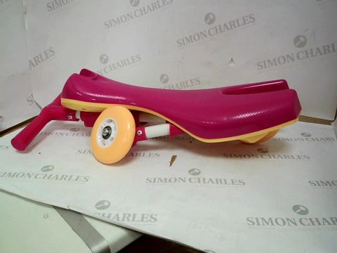 Lot 329 SCUTTLE BUG - FOLDING TODDLERS TRICYCLE PINK