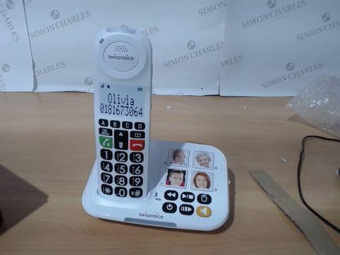 Lot 3087 SWISSVOICE XTRA 2155 AMPLIFIED TELEPHONE COMBO W/ ANSWERING MACHINE