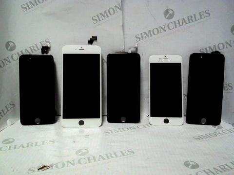 Lot 7177 LOT OF APPROXIMATELY 250 ASSORTED APPLE IPHONE SCREENS