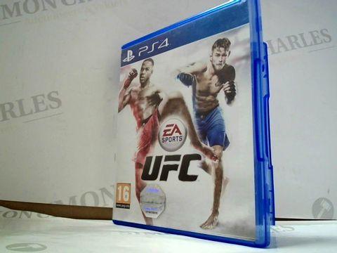 Lot 8182 UFC PLAYSTATION 4 GAME