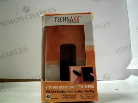 Lot 8119 TECHNAXX  FITNESS TRACKER TX-HR6