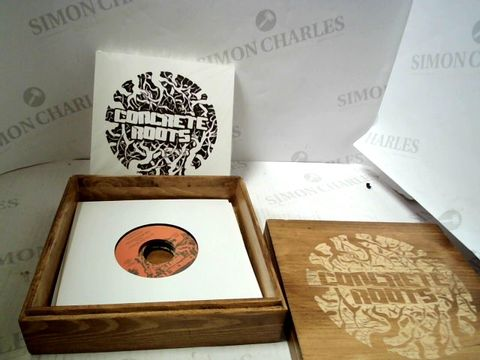 "Lot 3104 CONCRETE ROOTS 7"" BOX SET"