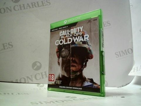Lot 4069 CALL OF DUTY BLACK OPS COLD WAR FOR XBOX ONE RRP £70.00