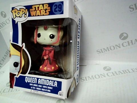 Lot 57 POP! STAR WARS QUEEN AMIDALA VINYL BOBBLE-HEAD 29   15+