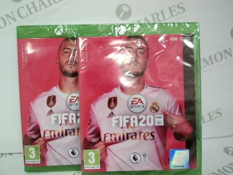 Lot 2380 BRAND NEW BOXED XBOX ONE FIFA 20 GAME