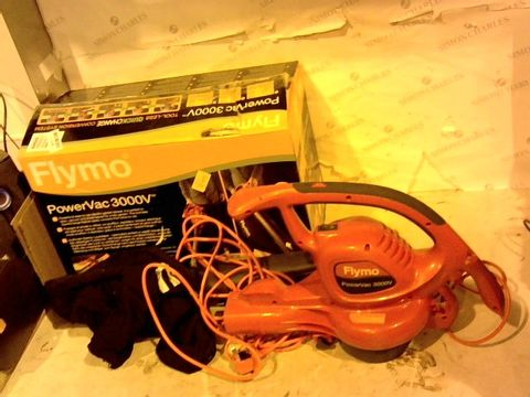 Lot 12441 FLYMO POWERVAC 3000V ELECTRIC BLOWER