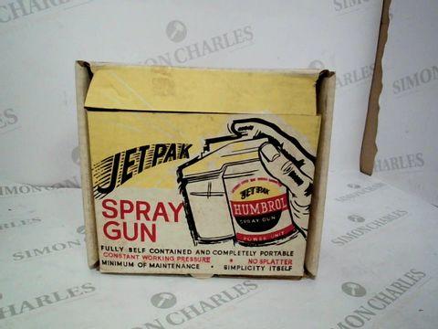 Lot 12907 BOXED JET PAK HUMBROL SPRAY GUN