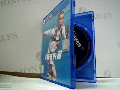 Lot 8187 FIFA 19 PLAYSTATION 4 GAME