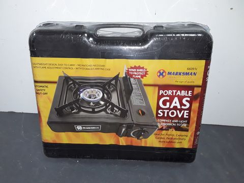 Lot 3307 SEALED MARKSMAN PORTABLE GAS STOVE