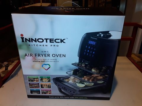 Lot 3172 BOXED INNOTECK KITCH PRO 1800W 12 LITRE AIR FRYER