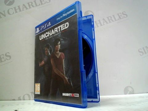 Lot 3148 UNCHARTED: THE LOST LEGACY PLAYSTATION 4 GAME