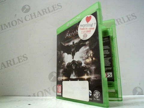 Lot 3044 BATMAN: ARKHAM KNIGHT XBOX ONE GAME