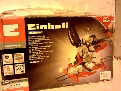 Lot 10043 EINHELL CROSSCUT AND MITRE SAW