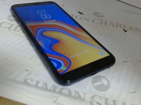 Lot 7583 SAMSUNG GALAXY J4+ MOBILE PHONE BLACK