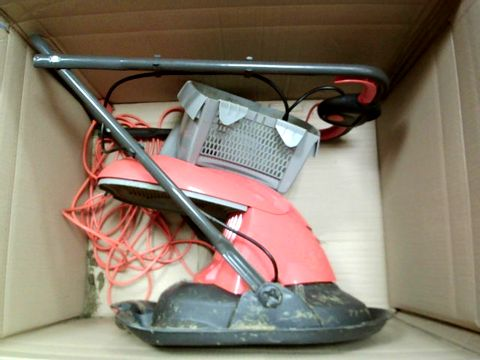 Lot 15429 FLYMO HOVER VAC 250 ELECTRIC HOVER COLLECT LAWNMOWER, 1400W, CUTTING WIDTH 25 CM