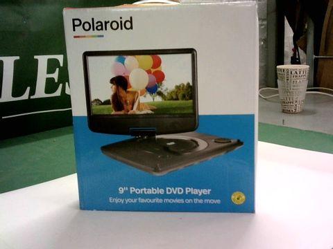 "Lot 1306 POLAROID 9"" PORTABLE DVD PLAYER"