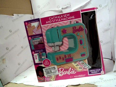 Lot 15065 BARBIE SEWING MACHINE SET RRP £37.99