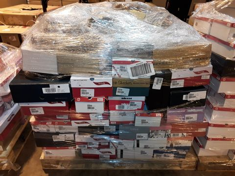 Lot 4006 PALLET OF APPROXIMATELY 133 PAIRS OF ASSORTED SHOES TO INCLUDE: