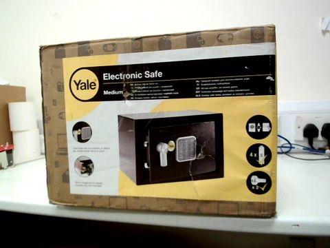 Lot 251 YALE ELECTRONIC SAFE MEDIUM