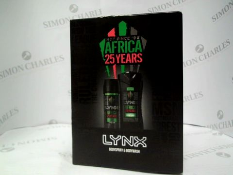 Lot 8131 LYNX AFRICA - BODYSPRAY AND BODYWASH