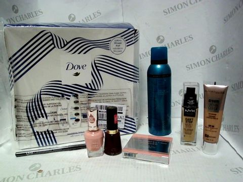 Lot 4391 LOT OF APPROXIMATELY 8 BEAUTY ITEMS, TO INCLUDE ST TROPEZ BRONZING MIST, SALLY HANSEN COLOUR THERAPY NAIL POLISH, PUR SKIN PERFECTING POWDER, ETC RRP £151.00