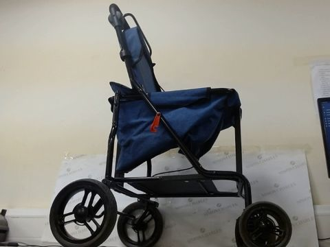 Lot 100 CARLETT SHOPPING TROLLEY-ROLLATOR, TOURQUOISE