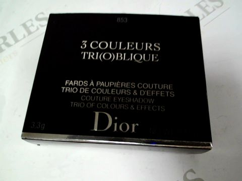 Lot 8195 DIOR TRIO EYESHADOW PALETTE