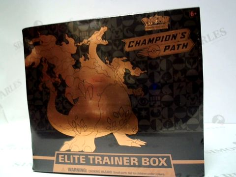 Lot 166 POKEMON CHAMPIONS PATH ELITE TRAINER BOX