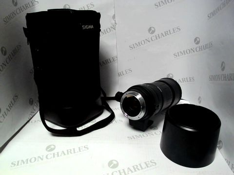 Lot 1547 SIGMA 135-400MM APO INTERCHANGEABLE LENS