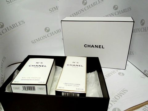 Lot 8080 CHANEL GIFTSET - EDP AND PERFUMED BODY LOTION