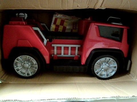 Lot 472 EVO ELECTRONIC 6V RIDE -ON FIRE ENGINE