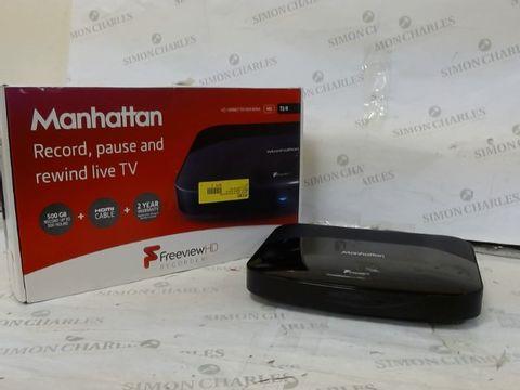 Lot 274 MANHATTAN T2-R FREEVIEW HD RECORDER