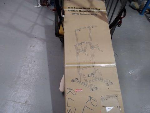Lot 4314 BOXED DESIGNER 2019 SQUARE TUBE CHINNING MACHINE