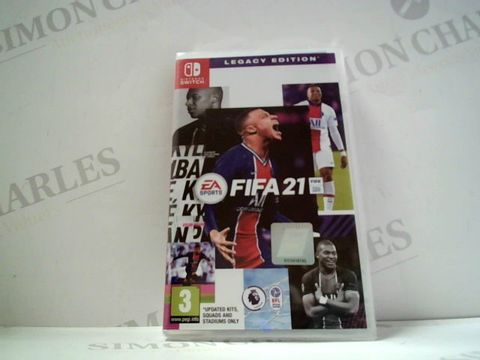 Lot 735 FIFA 21 FOR NINTENDO SWITCH RRP £60.00