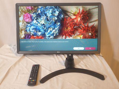 Lot 6 LG 28TN515V 27.5 INCH HD READY LED TV MONITOR