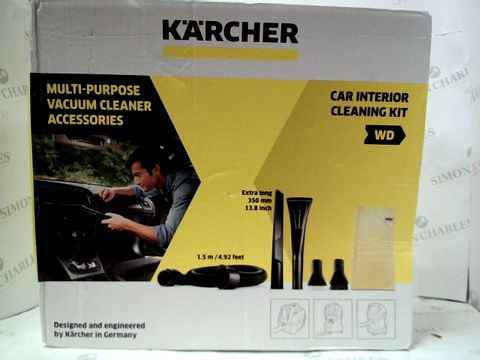 Lot 124 KARCHER MULTI-PURPOSE VACCUM CLEANER ACCESSORIES