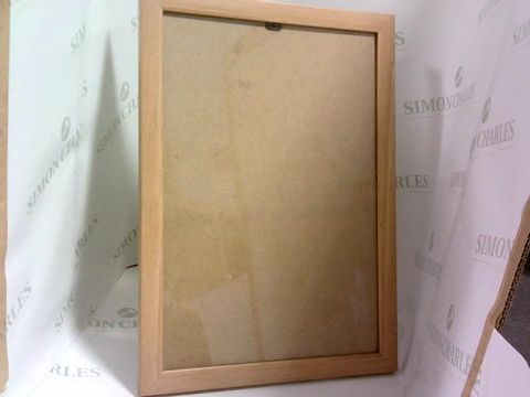 Lot 1058 BOX OF 12 PINE A4 CERTIFICATE FRAMES