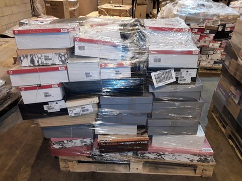 Lot 4012 PALLET OF APPROXIMATELY 85 PAIRS OF ASSORTED SHOES TO INCLUDE: