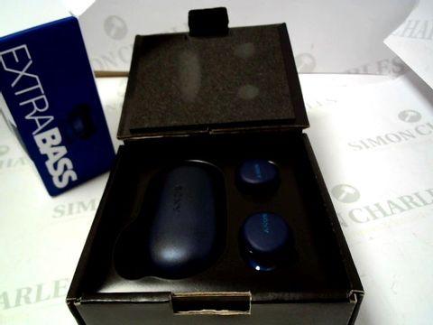 Lot 4028 SONY WF-XB700 TRUE WIRELESS HEADPHONES RRP £169.00