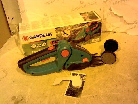 Lot 12455 GARDENA ACCU-GRASSCHERE COMFORTCUT