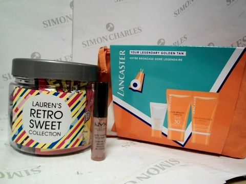 Lot 9018 A BOX OF ASSORTED ITEMS MAKE UP AND PERSONALISED ITEMS