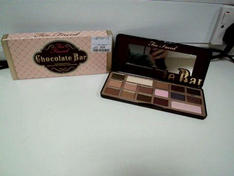 Lot 7650 TOO FACED CHOCOLATE BAR EYE SHADOW PALETTE