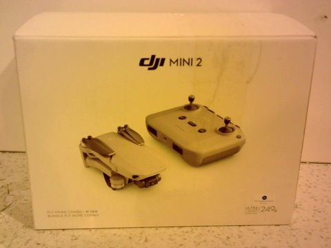 Lot 11683 DJI MINI 2 FLY MORE COMBO (UK) + CARE REFRESH (AUTO-ACTIVATED) - ULTRALIGHT AND PORTABLE DRONE