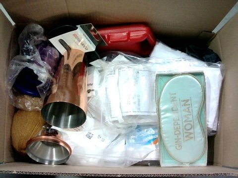 Lot 2331 BOX OF LARGE QUANTITY OF ASSORTED HOUSEHOLD ITEMS