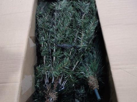 Lot 4526 WE R CHRISTMAS PRE LIT VICTORIAN PINE XMAS TREE