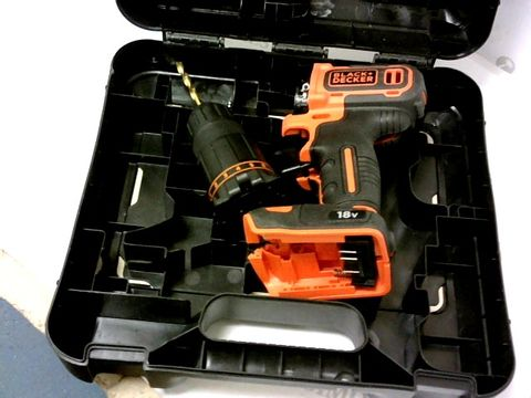 Lot 7275 BLACK AND DECKER HAMMER DRILL